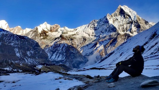 An UrFU Master Student Ascended on the Annapurna I Base Camp